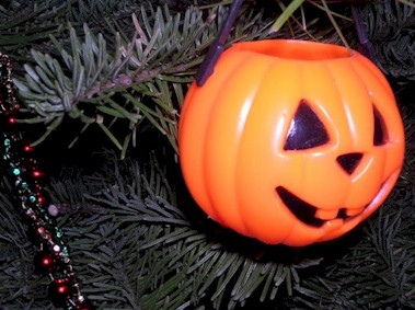 Best Xmas Ornament: Pumpkin